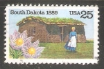 Sellos de America - Estados Unidos -  Dakota del Sur
