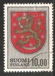 Sellos de Europa - Finlandia -  Escudo de armas