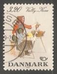 Sellos de Europa - Dinamarca -  General federation of women clubs