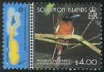 Stamps Oceania - Solomon Islands -  ISLAS SALOMÓN: Rennell Este