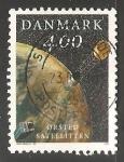sello : Europa : Dinamarca : satelite