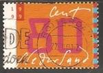 Sellos de Europa - Holanda -  Escritura manual