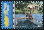 Stamps Oceania - Solomon Islands -  iISLAS SALOMÓN: Rennell Este