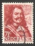 Sellos de Europa - Holanda -  : MICHIEL ADRIAANSZOON DE RUYTER 1607-1676