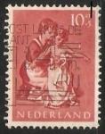 Sellos de Europa - Holanda -  Niñera con niño