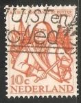 Sellos de Europa - Holanda -   Michiel Adriaanszoon de Ruyter (1607-76)