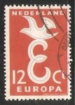 Stamps Netherlands -  Europa