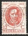 Sellos del Mundo : America : Holanda : J.L.C. Schroeder van der Kolk (1797-1862)