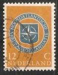Sellos de Europa - Holanda -  Emblema de la Otan