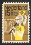 Stamps Netherlands -  Niños musicos