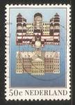 Sellos de Europa - Holanda -  Palacio Real de Ámsterdam