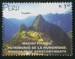 Stamps America - Peru -  PERÚ -Santuario histórico de Machu Picchu