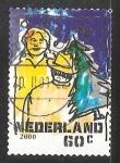 Sellos de Europa - Holanda -  Comprando arbol de navidad