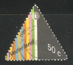 Sellos de Europa - Holanda -  navidad velas