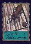 Stamps Asia - United Arab Emirates -  INSECTOS