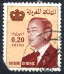 Stamps : Africa : Morocco :  MARRUECOS_SCOTT 508 REY HASSAN II. $0.20