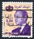 Stamps : Africa : Morocco :  MARRUECOS_SCOTT 518.02 REY HASSAN II. $0.20