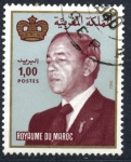 Stamps Morocco -  MARRUECOS_SCOTT 520.02 REY HASSAN II. $0.20
