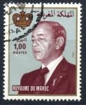 Stamps : Africa : Morocco :  MARRUECOS_SCOTT 520.03 REY HASSAN II. $0.20