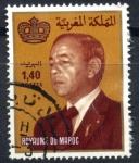 Stamps : Africa : Morocco :  MARRUECOS_SCOTT 521 REY HASSAN II. $0.20