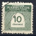 Stamps : Africa : Morocco :  MARRUECOS ESPAÑOL_SCOTT 324 ARABESCO. $0.20