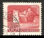 Stamps Hungary -  Castillo Sárospatak