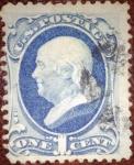 Sellos del Mundo : America : Estados_Unidos : Benjamin Franklin