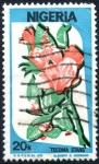 Stamps : Africa : Nigeria :  NIGERIA_SCOTT 493.01 FLOR. $0.20