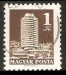 Sellos de Europa - Hungría -  Hotel Budapest