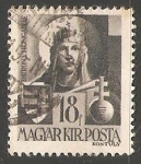 Stamps Hungary -  Virgin Mary, Patrona de Hngria