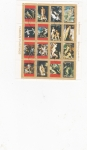 Stamps : Europe : United_Arab_Emirates :  PINTURAS DESNUDOS