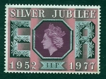 Stamps United Kingdom -  25 Anivr.ISABEL  II