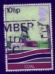 Stamps United Kingdom -  Mineria