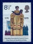 Stamps : Europe : United_Kingdom :  Seremonia Religiosa