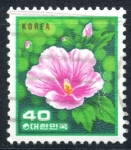 Stamps : Asia : South_Korea :  COREA DEL SUR_SCOTT 1256.01 ROSA DE SHARON. $0.20