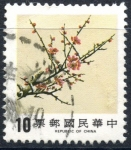 Stamps : Asia : Taiwan :  REPUBLICA CHINA_SCOTT 2441 CIRUELO. $0.20