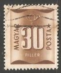 Sellos de Europa - Hungría -  numeros