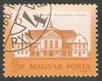 Stamps Hungary -  Rudnyanszky Castle