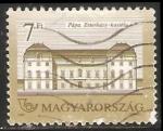Stamps Hungary -  Eszterházy Castle