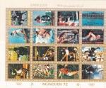 Sellos de Asia - Emiratos Árabes Unidos -  OLIMPIADA DE MUNICH-72