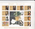 Stamps United Arab Emirates -  REYES Y PRESIDENTES DEL MERCADO COMUN