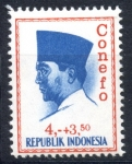 Stamps : Asia : Indonesia :  INDONESIA_SCOTT B170 PRESIDENTE SUKARNO. $0,20