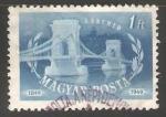 Sellos de Europa - Hungría -  Centenario de la abertura del puente al trafico