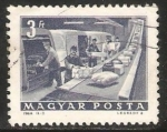 Sellos de Europa - Hungría -  Servicios postales