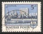 Stamps Hungary -  Szolnok