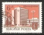 Stamps Hungary -  Dunaújváros