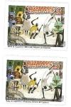 Stamps Brazil -  Oficio de los Maestros de Capoeira - Roda de Capoeira