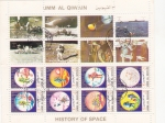 Sellos de Asia - Emiratos Árabes Unidos -  HISTORIA DEL ESPACIO-AERONAUTICA