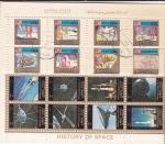 Stamps United Arab Emirates -  HISTORIA DEL ESPACIO-AERONAUTICA
