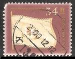 Stamps Hungary -  Bandera de Hungria